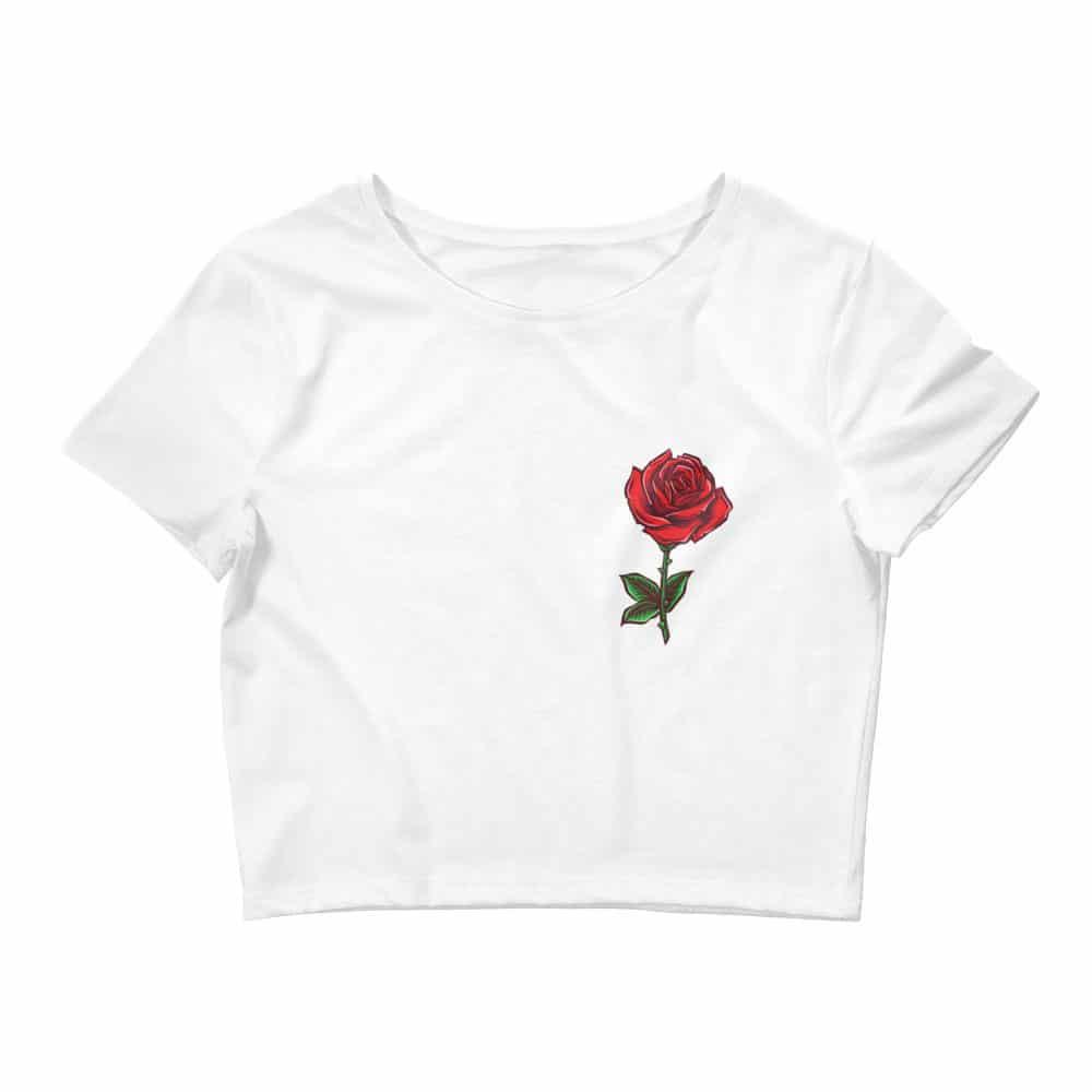 Rose Crop Tee