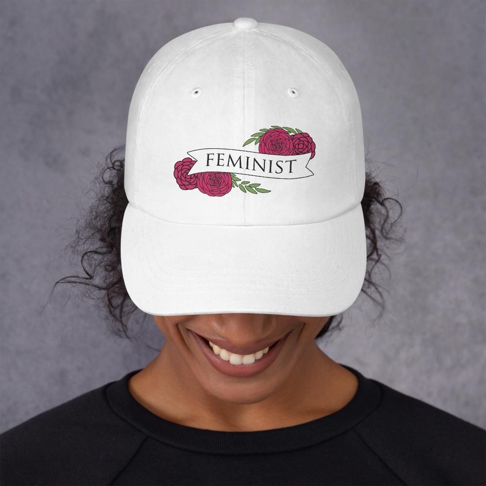 She is Apparel Feminist Cap