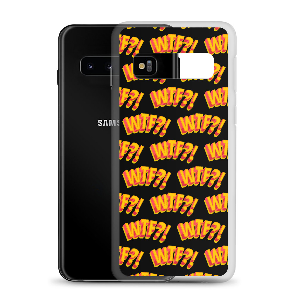 She is apparel WTF! Samsung Case