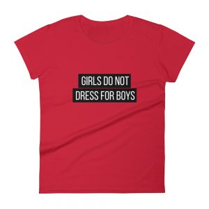 She is apparel Girl don't dress for boys T-Shirt