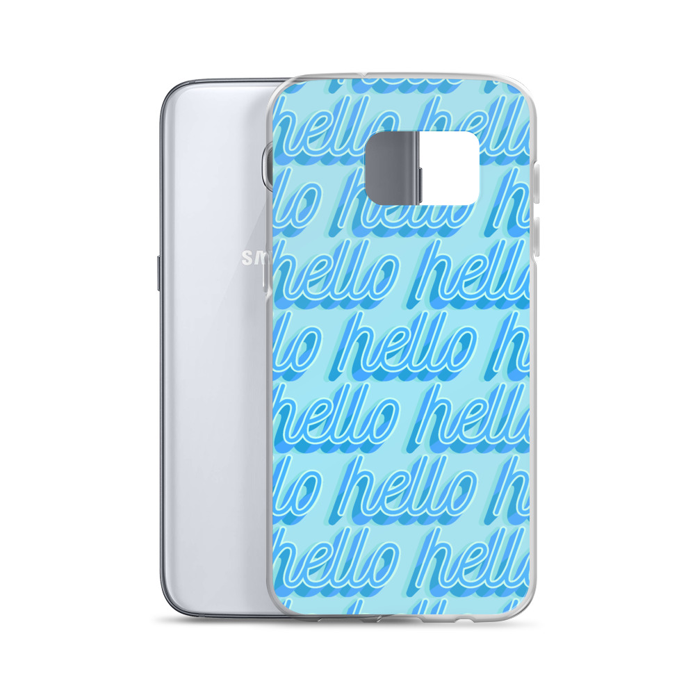 she is apparel Hello Samsung Case