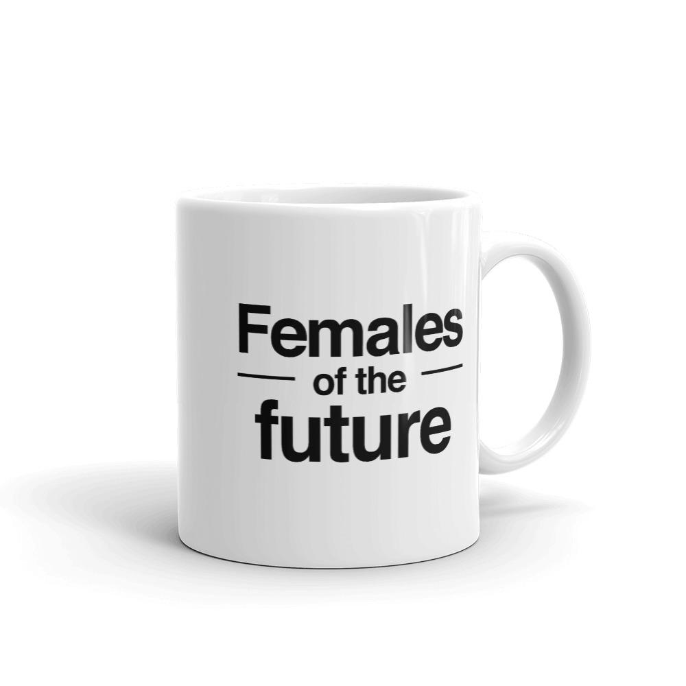 She is apparel Females of the future mug