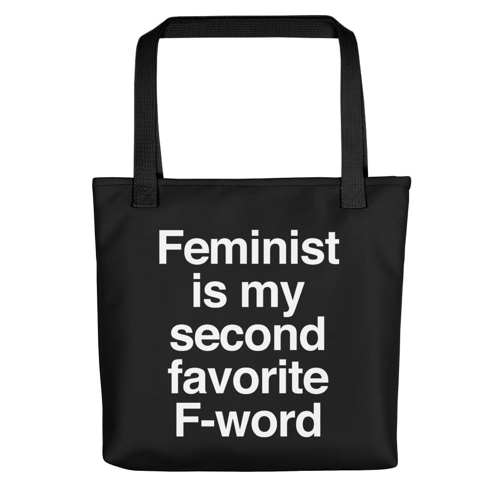 She is Apparel F-Word Tote Bag
