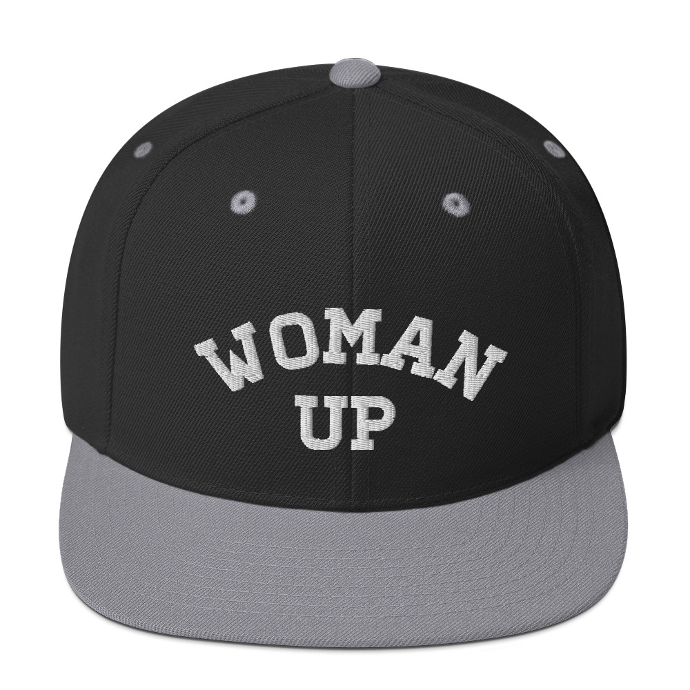 She is apparel Woman Up snapback