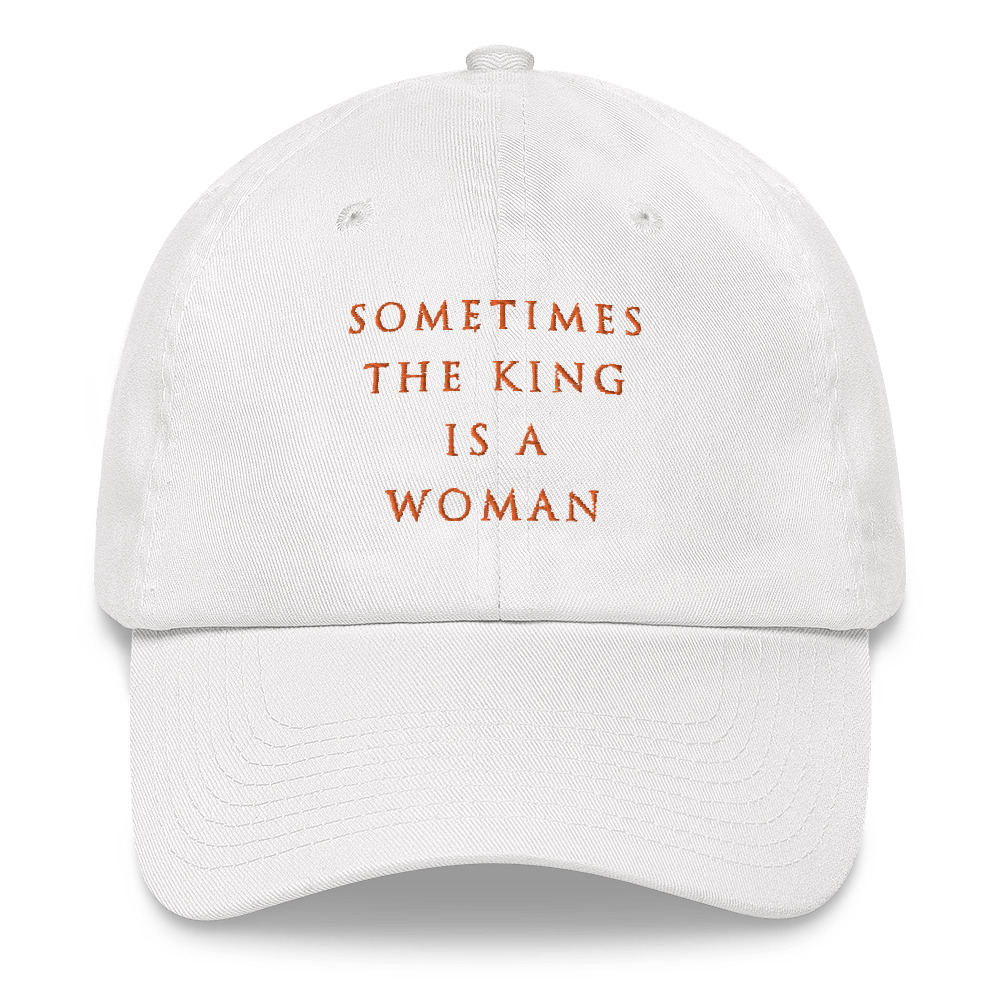 She is apparel Sometimes dad hat