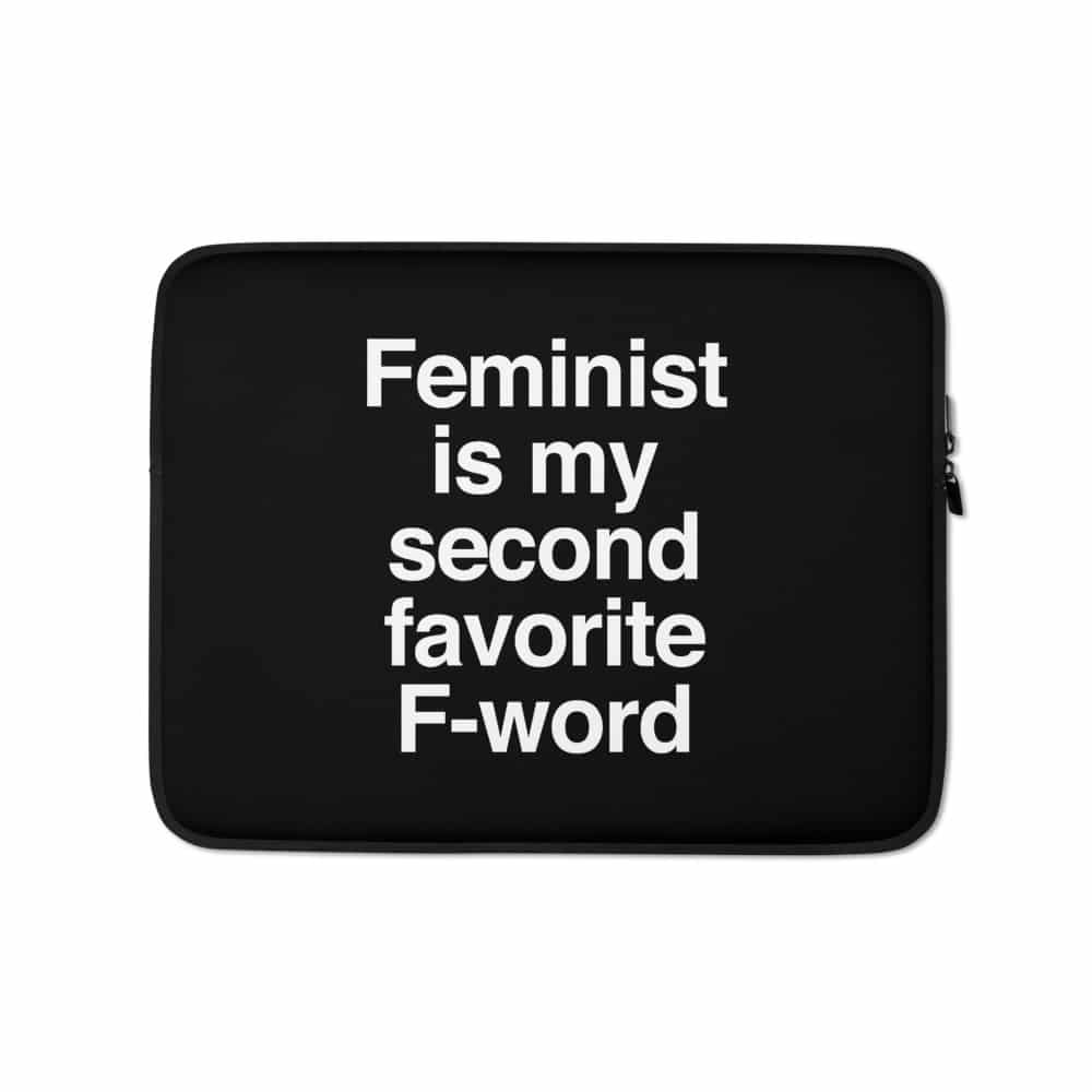 She is Apparel F-Word Laptop Sleeve