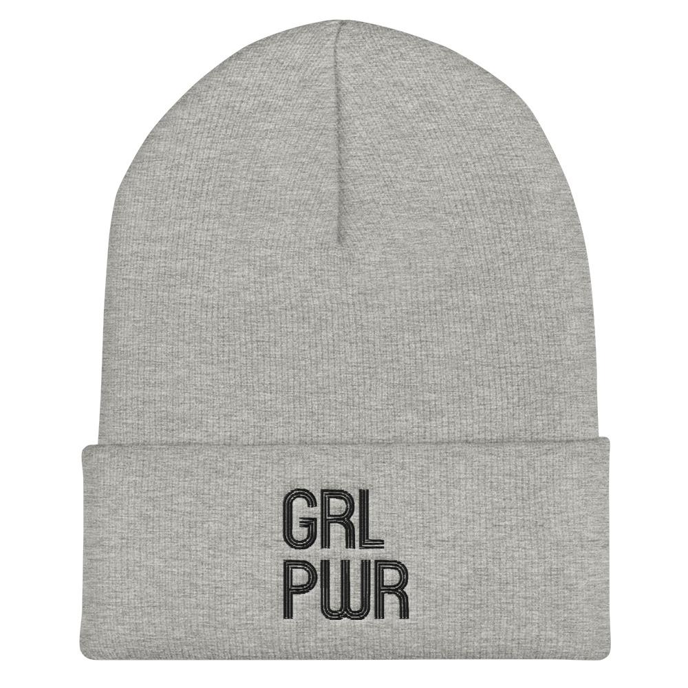 she is apparel Grl Pwr beanie