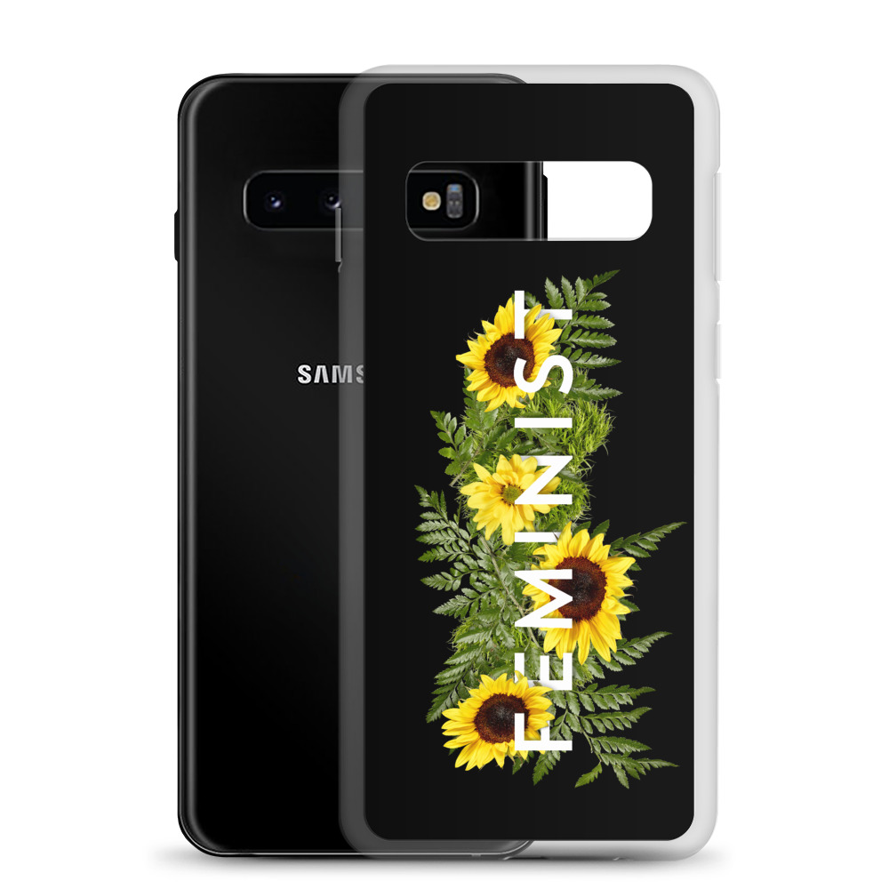 she is apparel Sunflowers Samsung Case