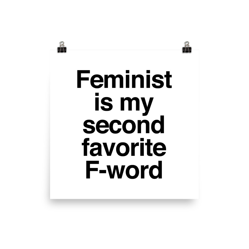 She is Apparel F-word Poster