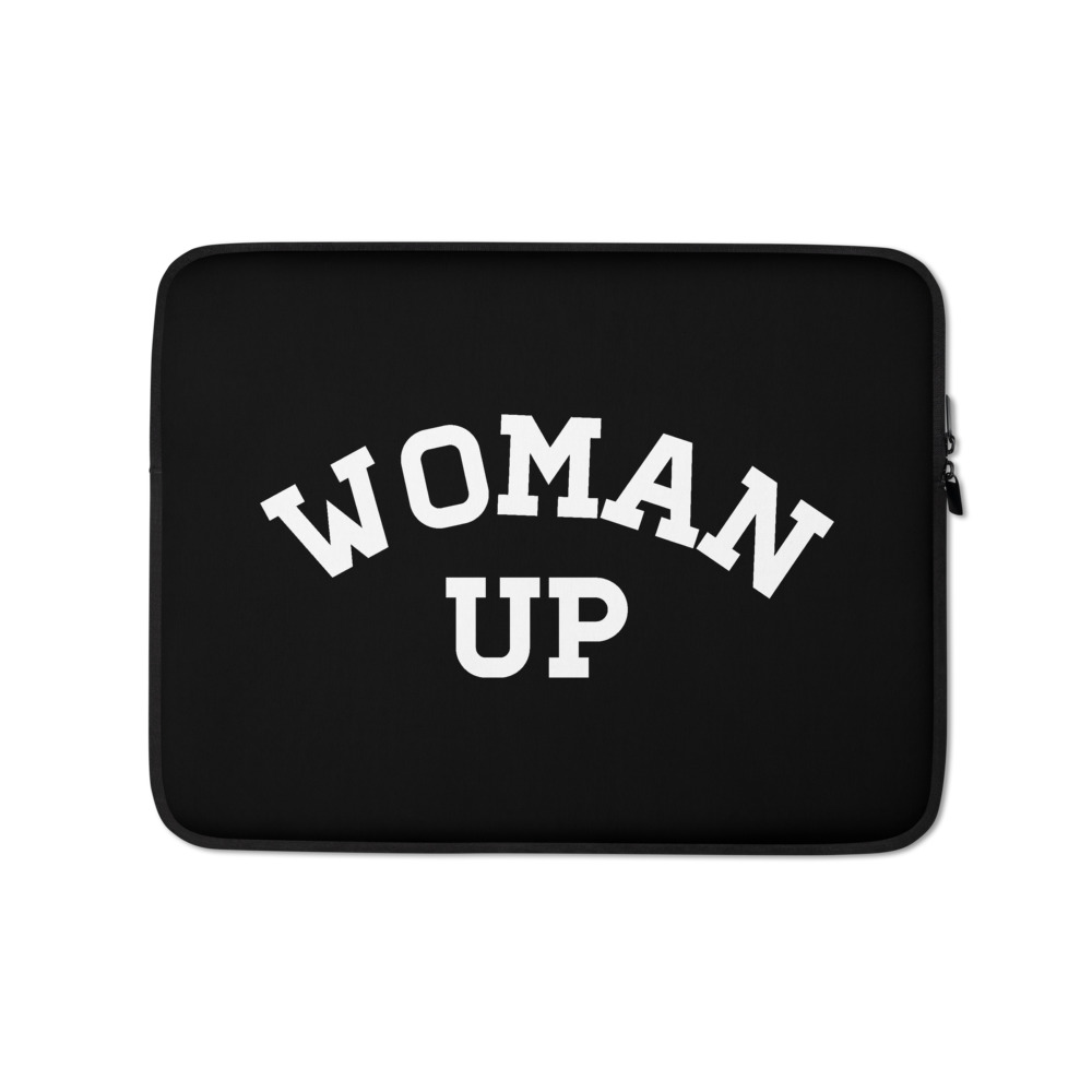 She is apparel Woman Up laptop sleeve