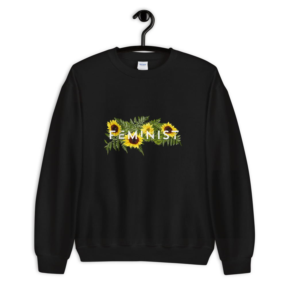 she is apparel Sunflowers sweatshirt