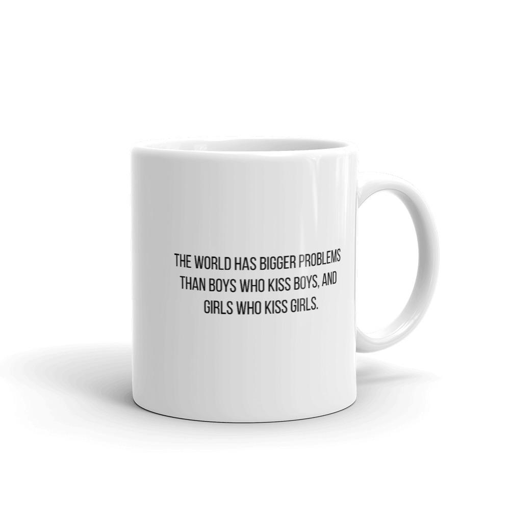 she is apparel The world has mug