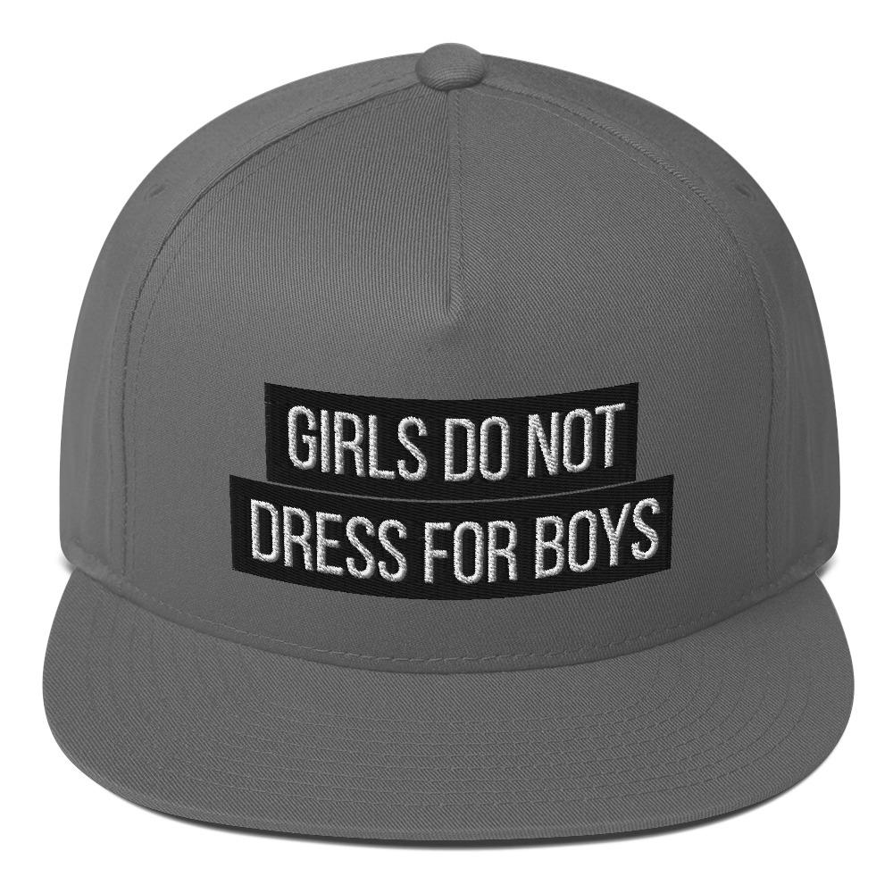 She is apparel Girl don't dress for boys snapback