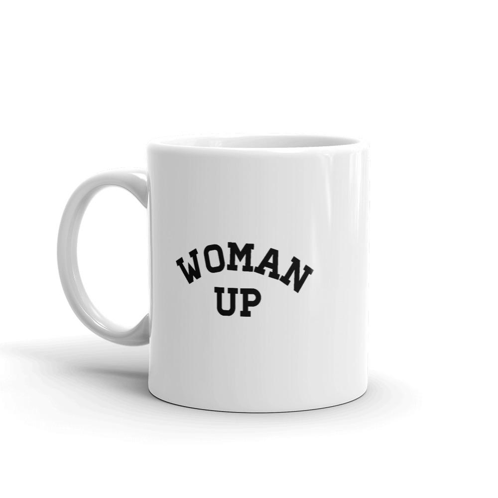 She is apparel Woman up mug