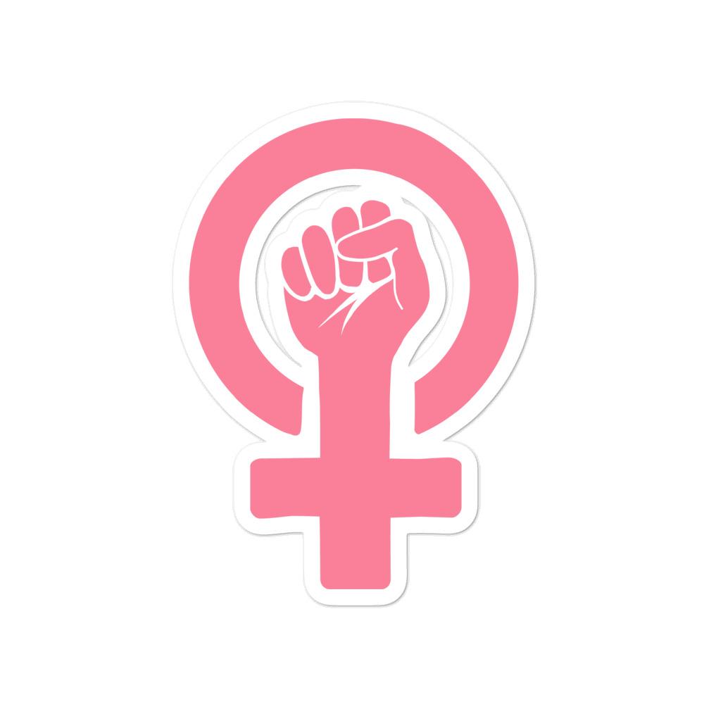 she is apparel Women Power stickers