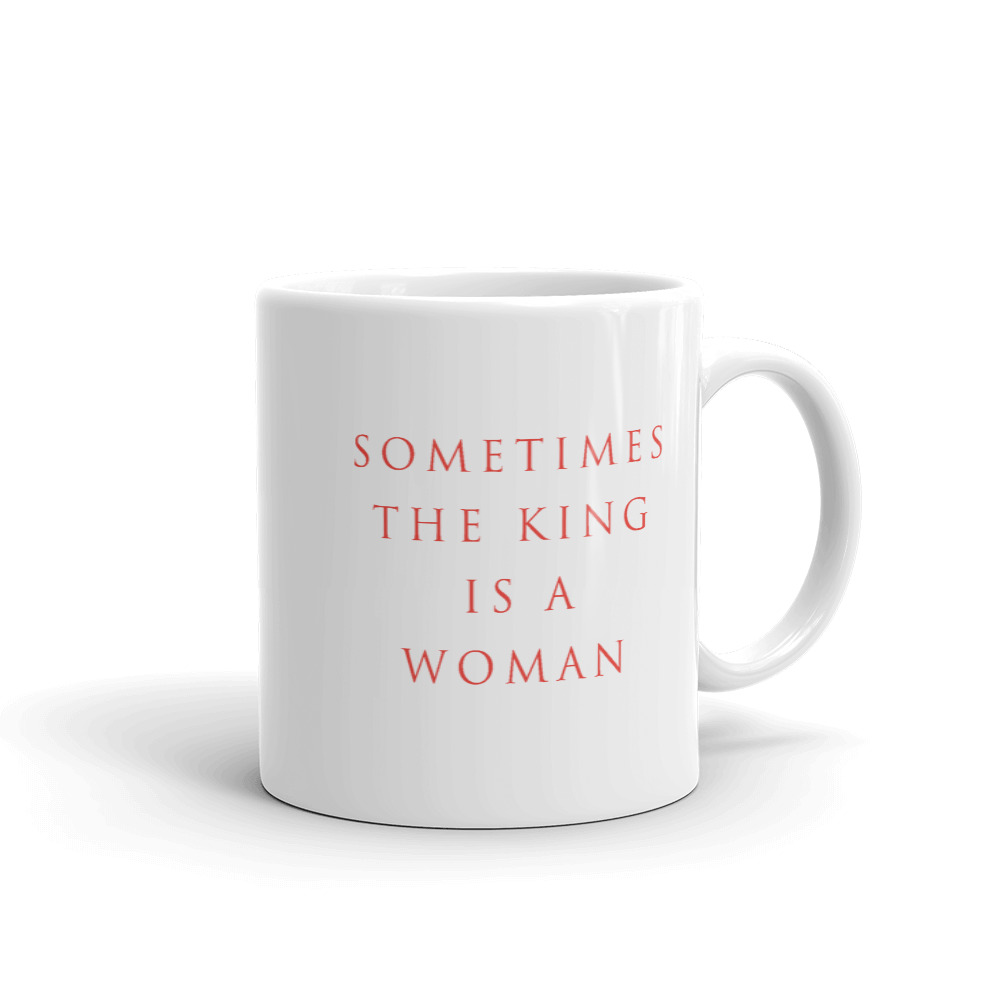 She is apparel Sometimes mug