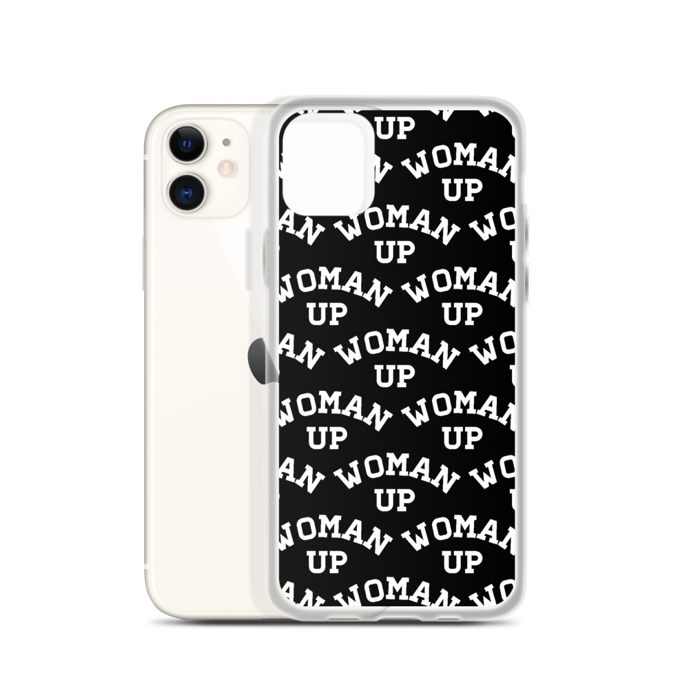 She is apparel Woman Up iPhone Case