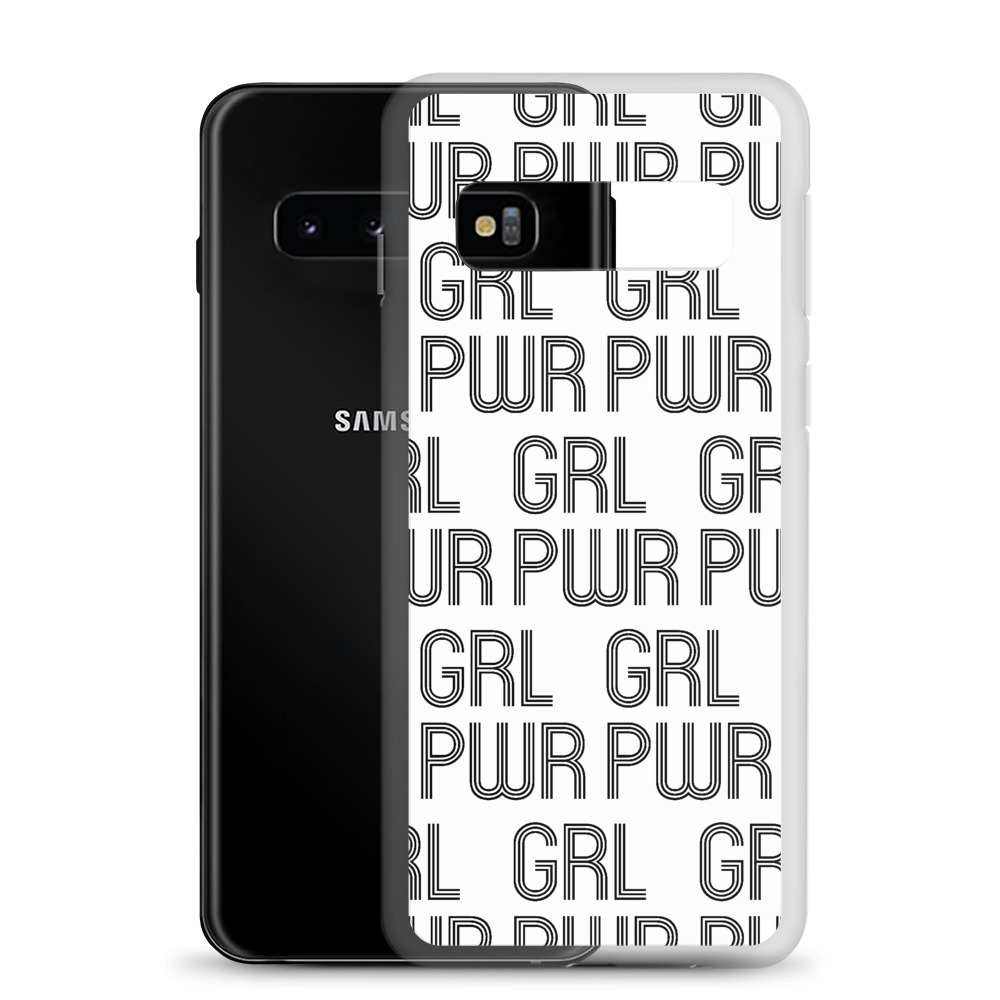 she is apparel Grl Pwr Samsung Case