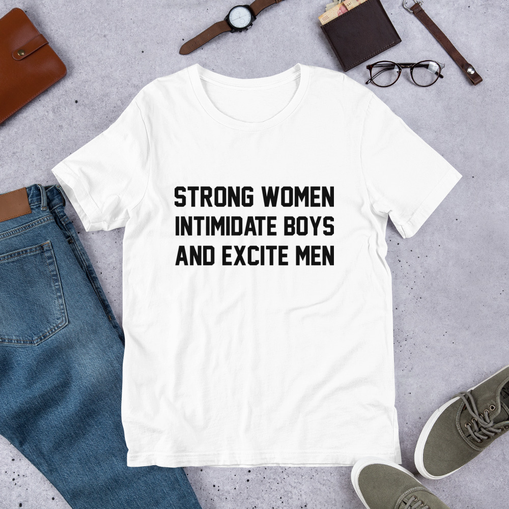 She is apparel Strong Women T-Shirt