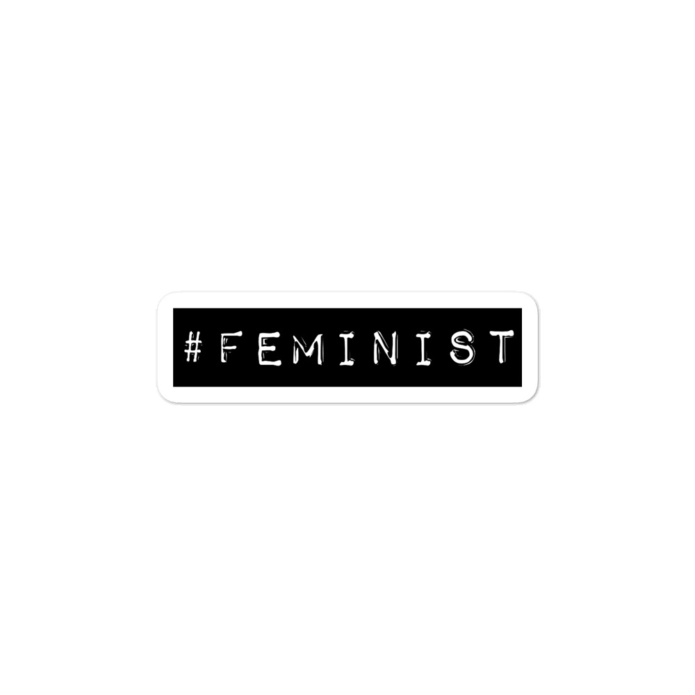 She is Apparel #Feminist Sticker