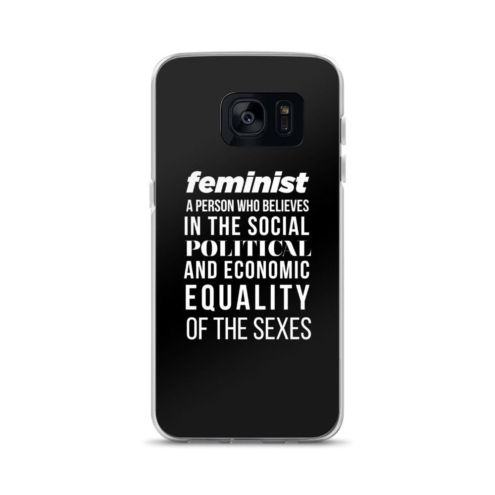 She is apparel Feminist Quote Samsung Case