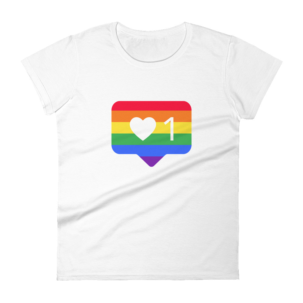 She is apparel Pride like short sleeve t-shirt