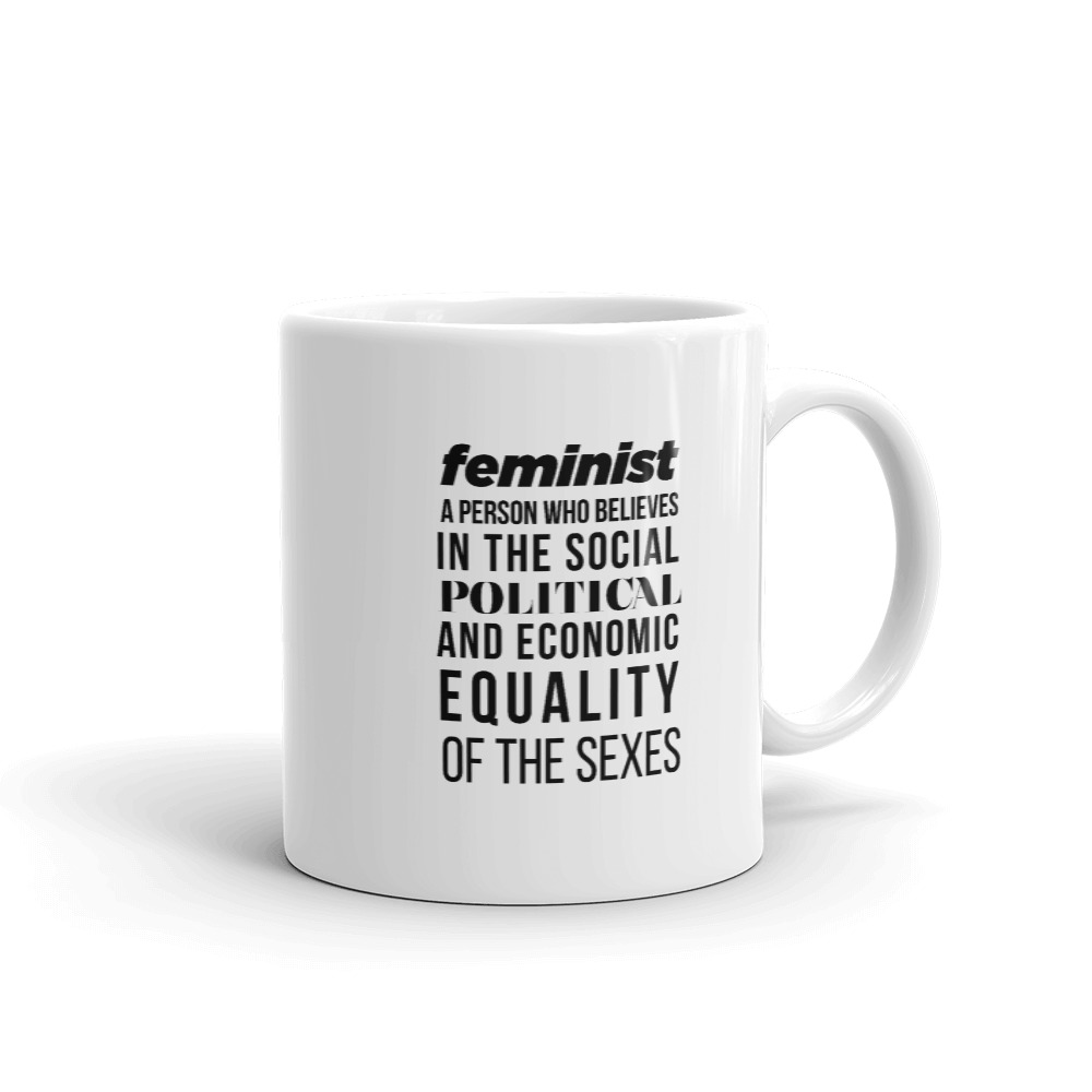 She is apparel Feminist Quote Mug