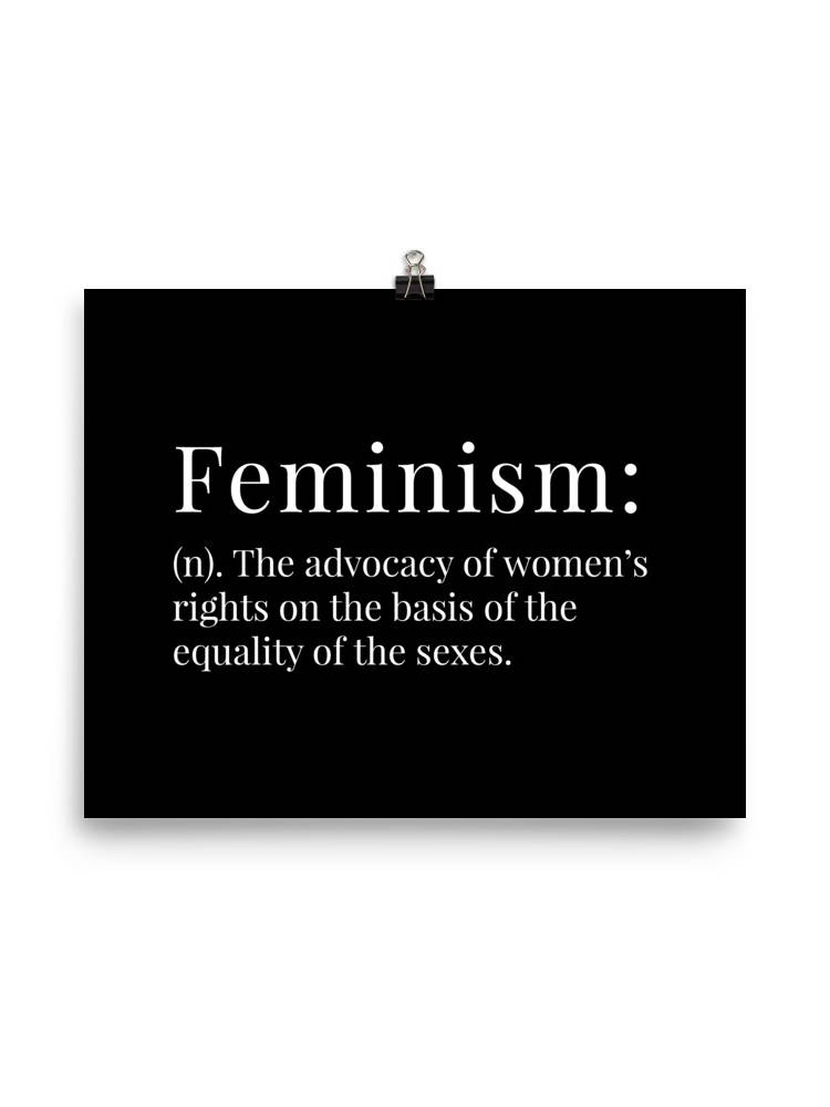 She is apparel Feminism poster