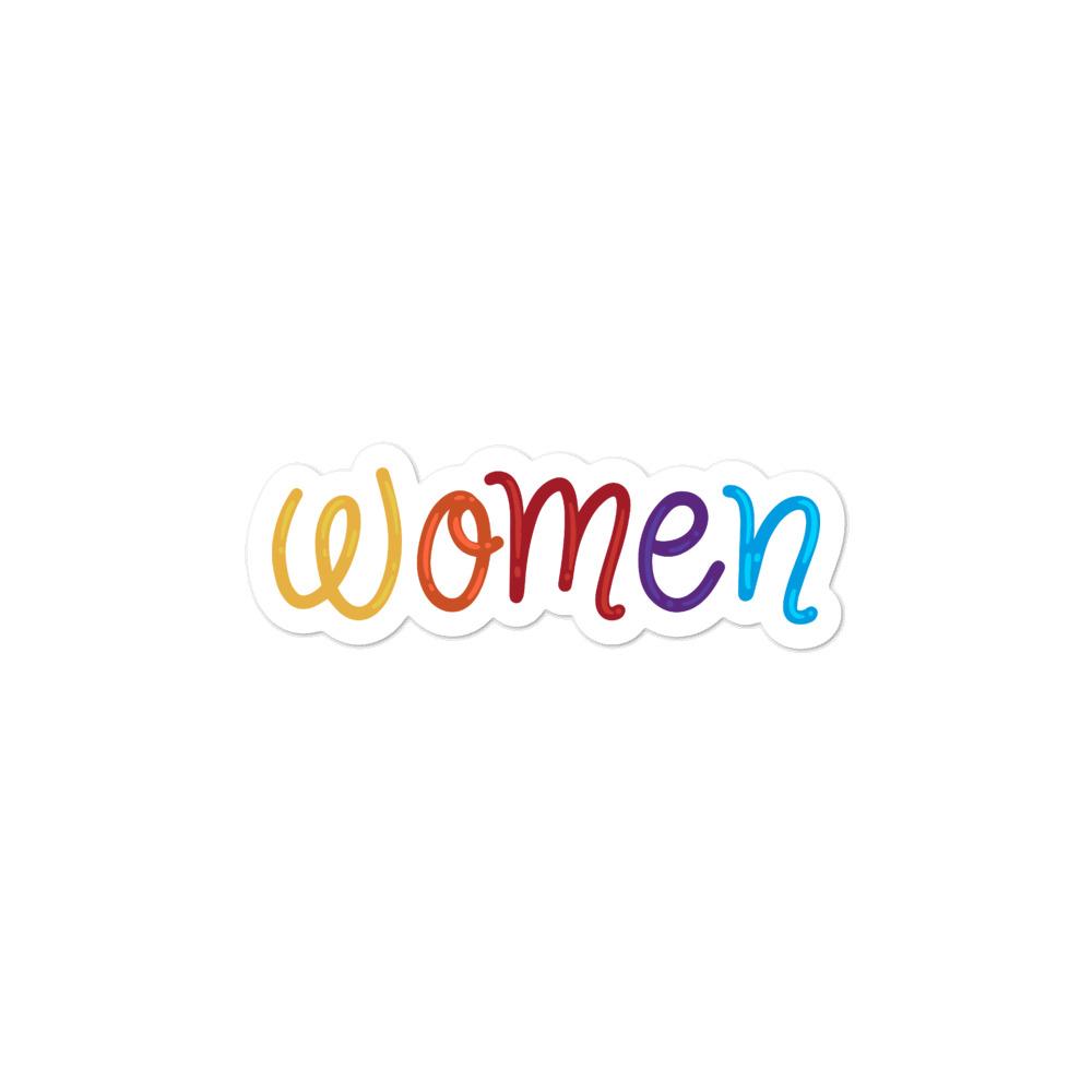 She is Apparel Women Stickers