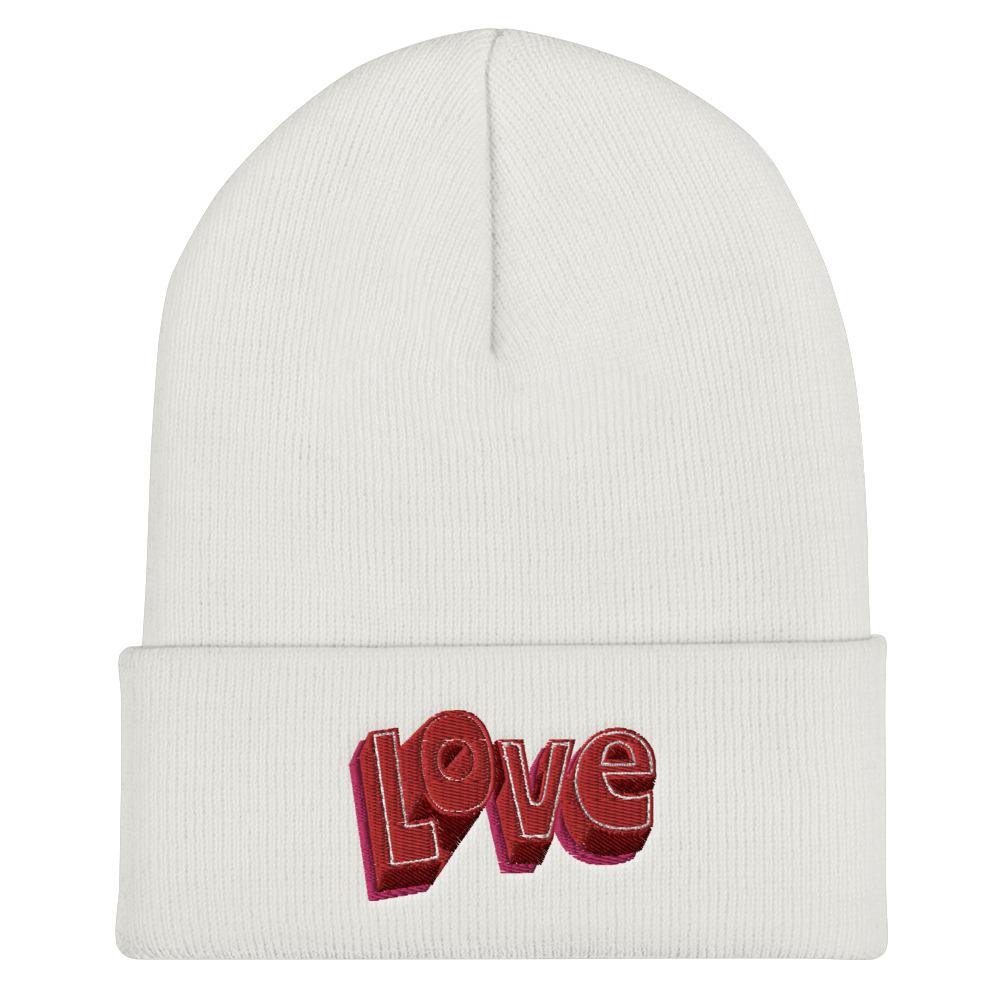she is apparel Love beanie