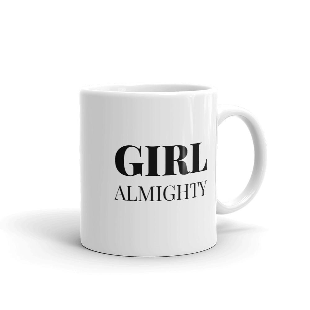 She is apparel Girl Almighty mug