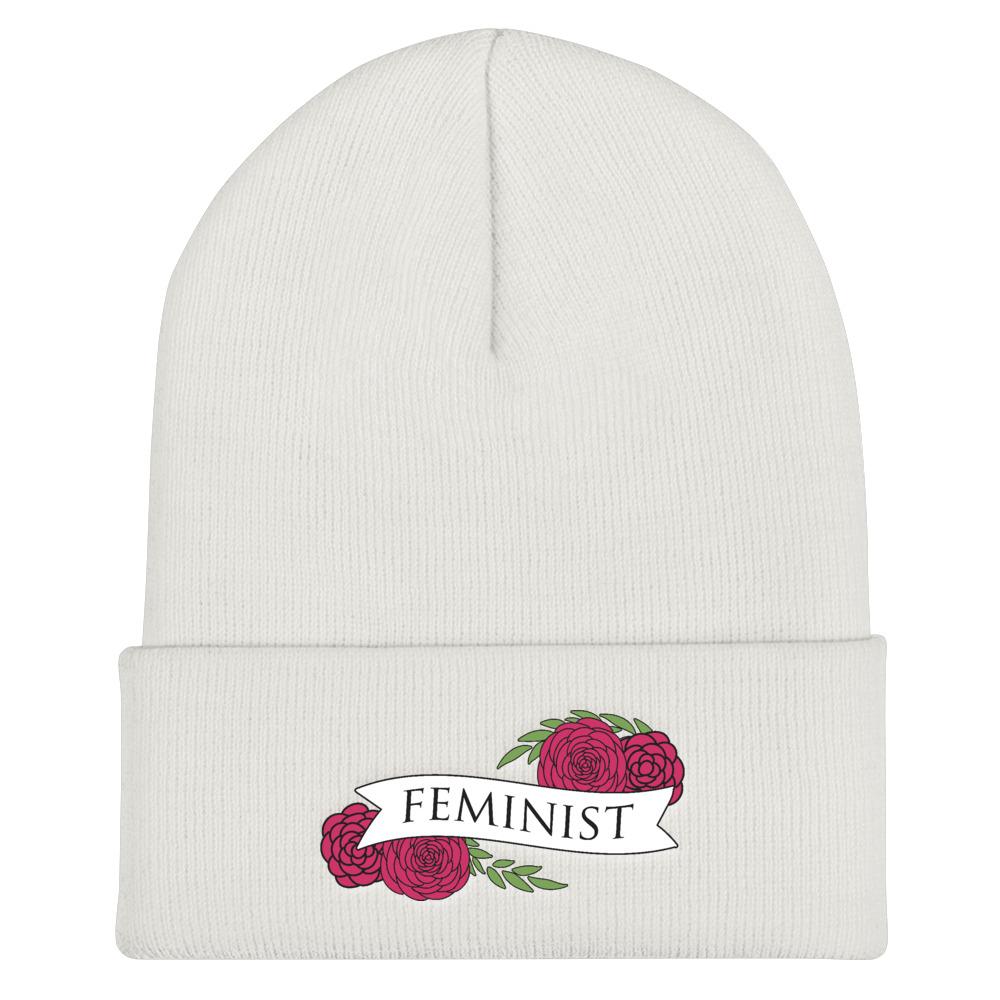 She is Apparel Feminist Beanie