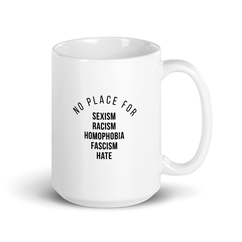 She is apparel No place for mug