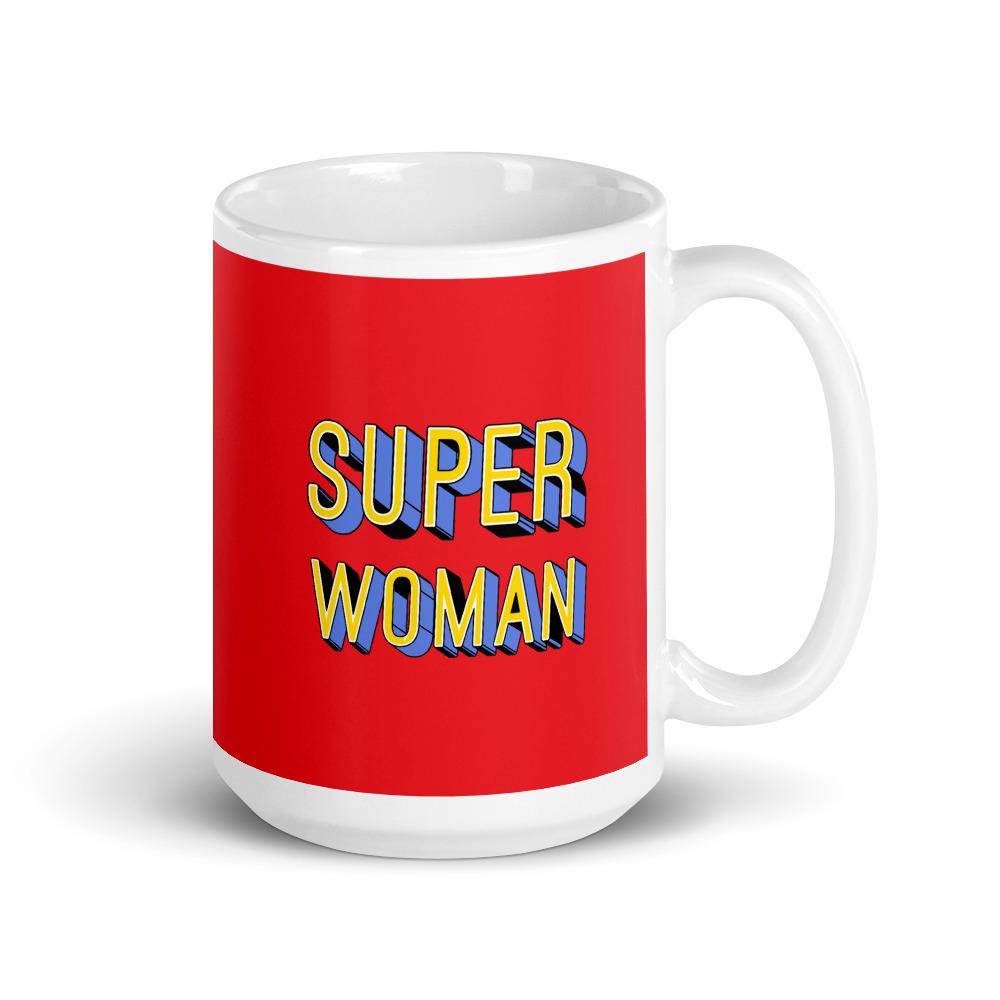 she is apparel Super Woman mug