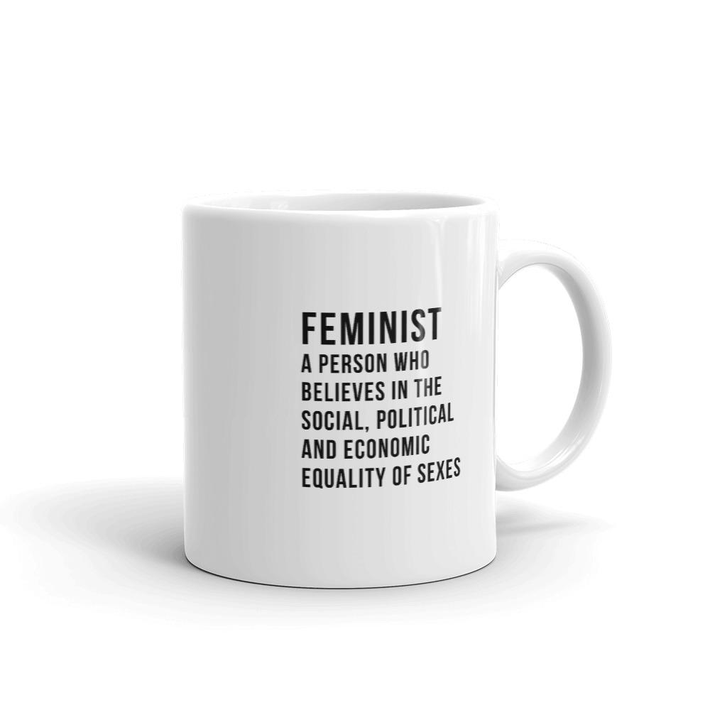 She is apparel Feminist Definition mug