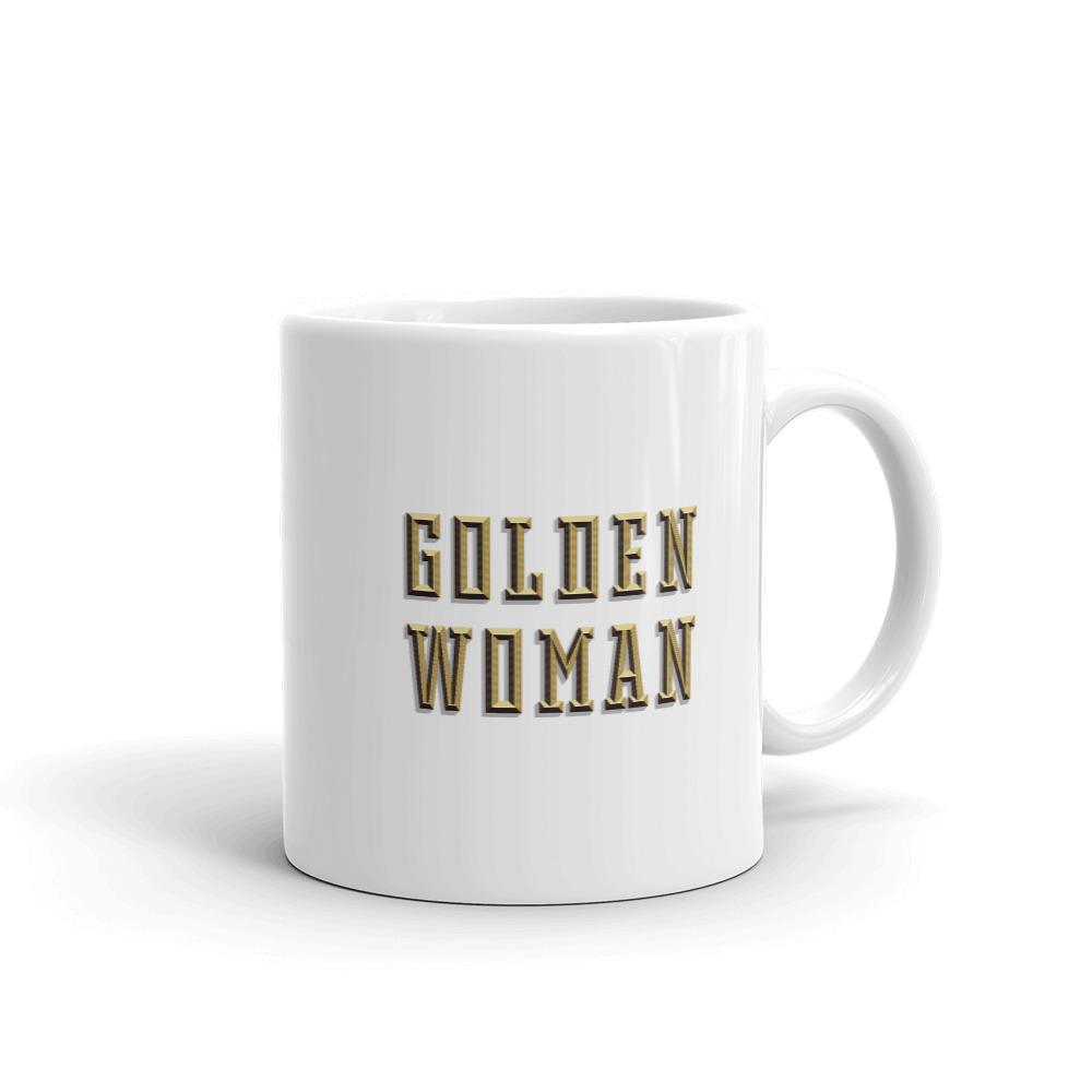 Golden Woman Mug