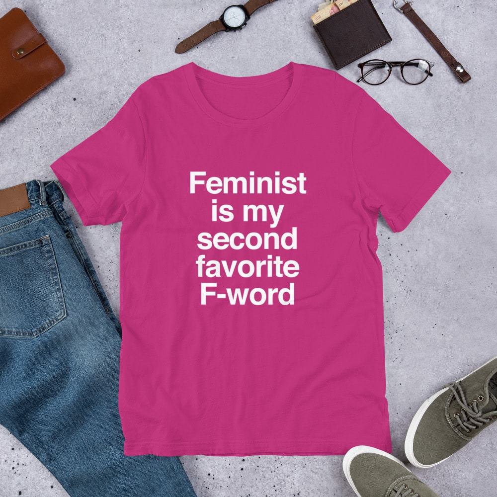 She is Apparel F-Word T-Shirt