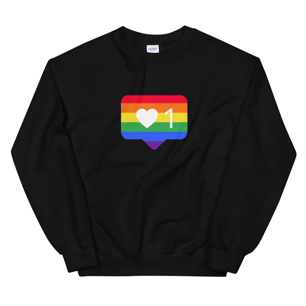 She is apparel Pride like Sweatshirt