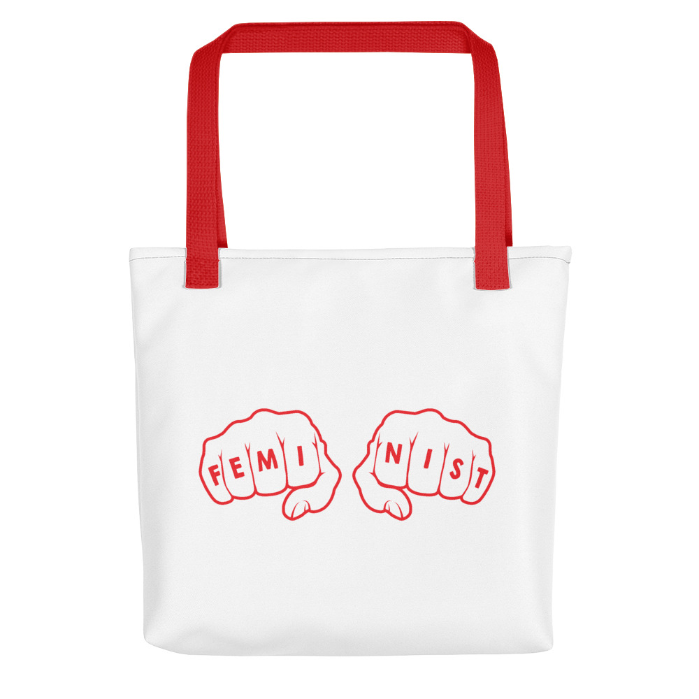 She is apparel Fight like a girl Tote Bag