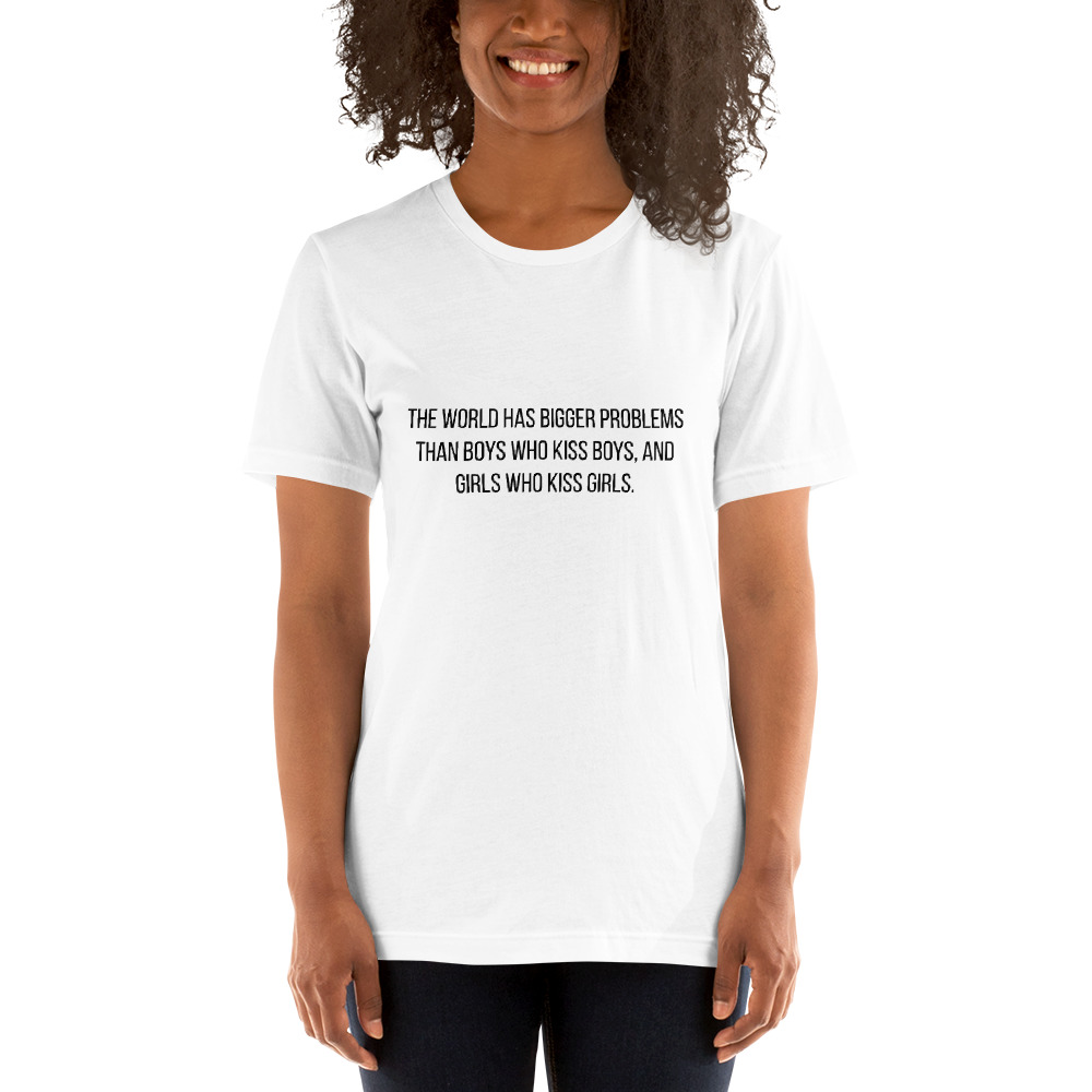 she is apparel The world has T-Shirt