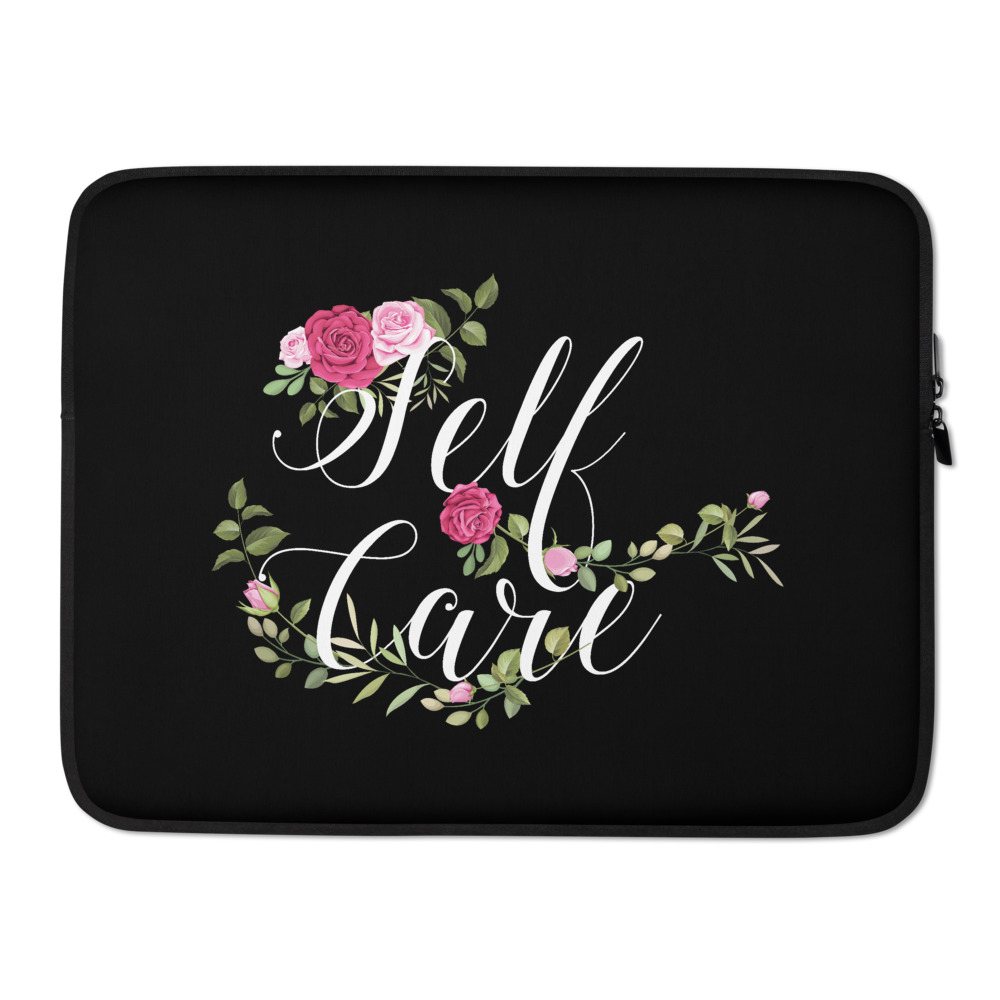 She is apparel Self Care Laptop Sleeve