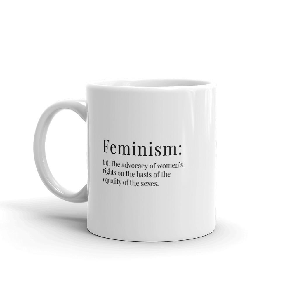 She is apparel Feminism Definition mug