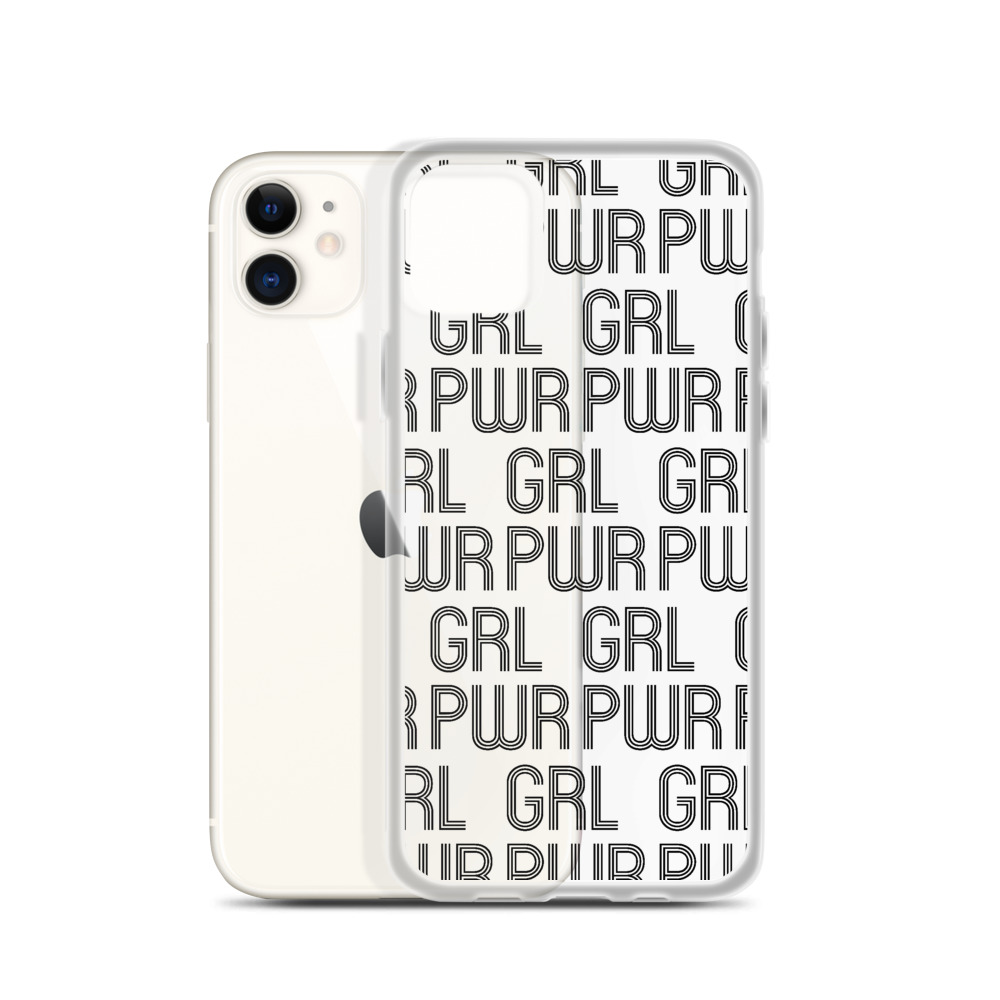 she is apparel Grl Pwr iPhone Case