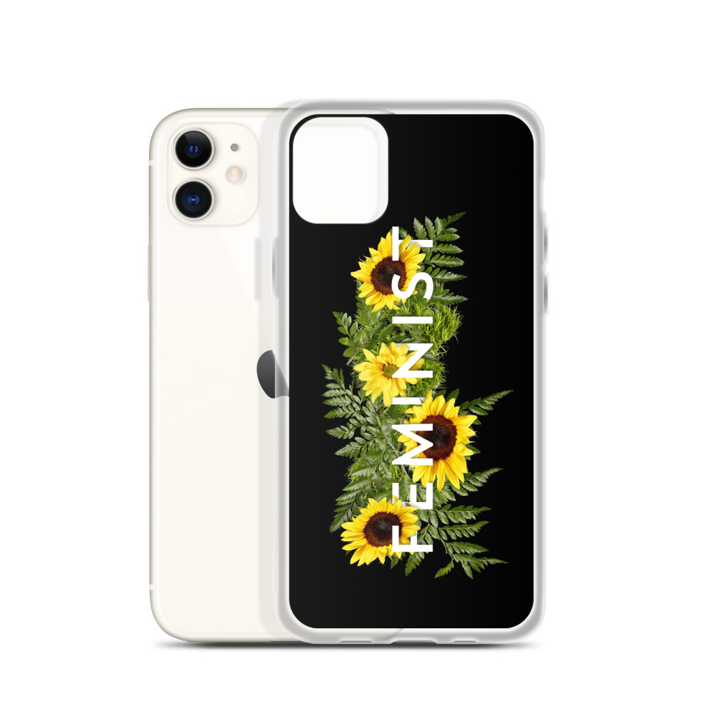 she is apparel Sunflowers iPhone Case
