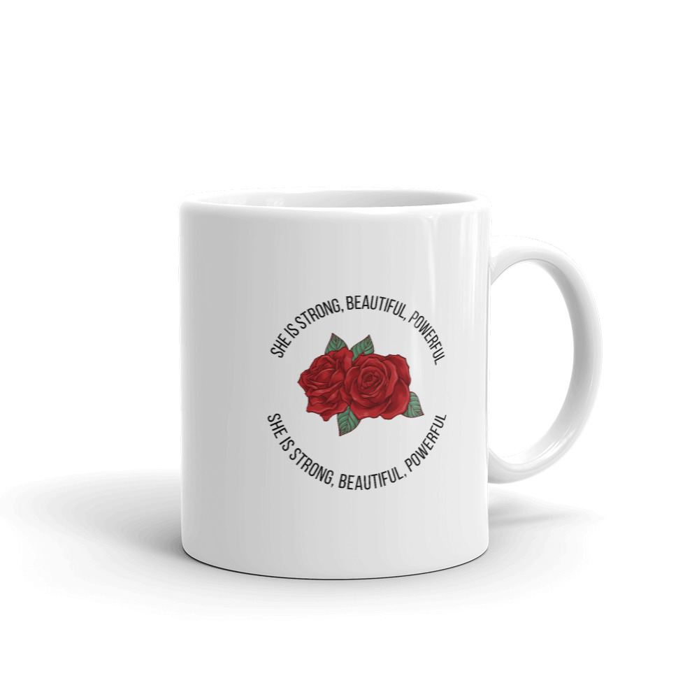 She is Apparel She is strong Mug