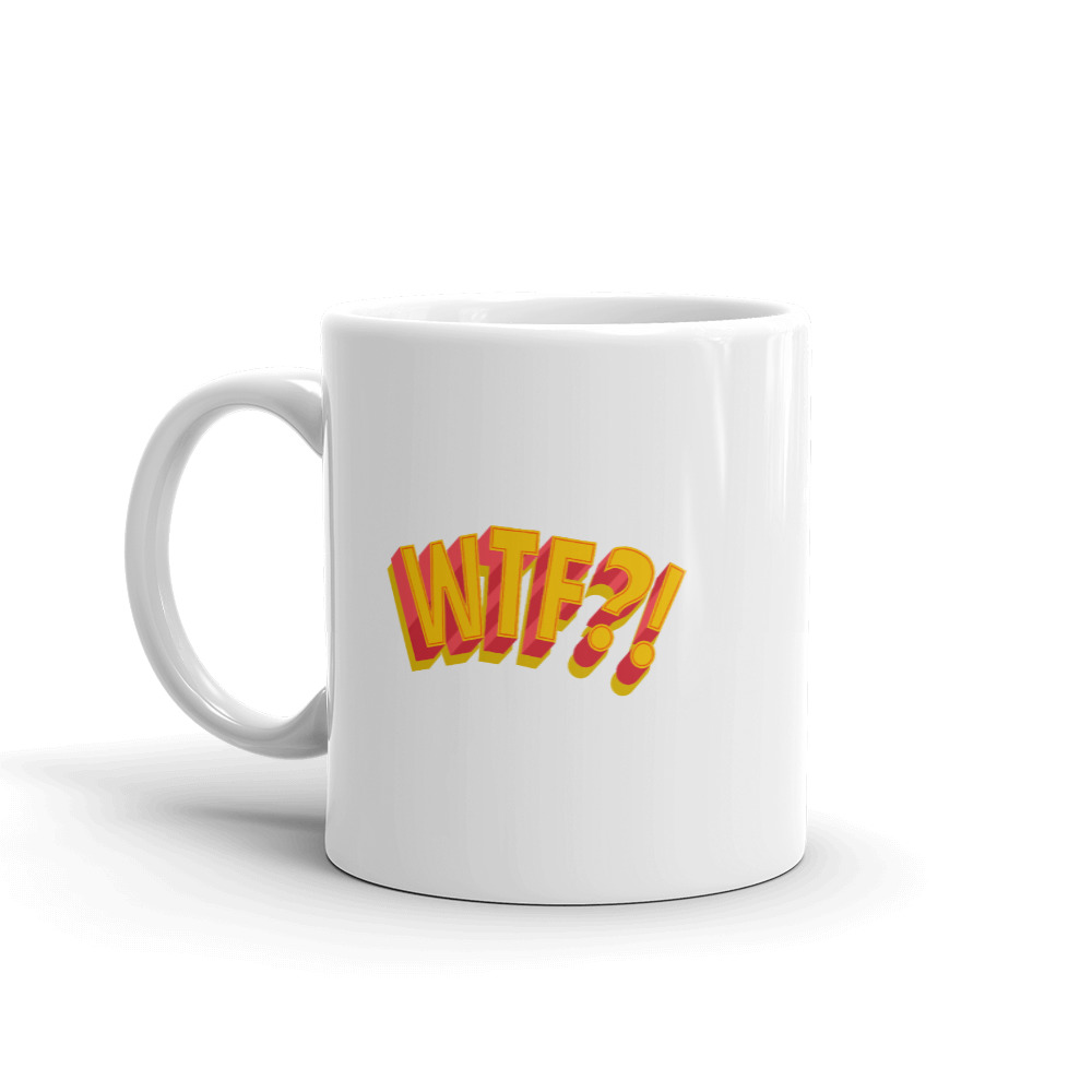 She is apparel WTF! Mug
