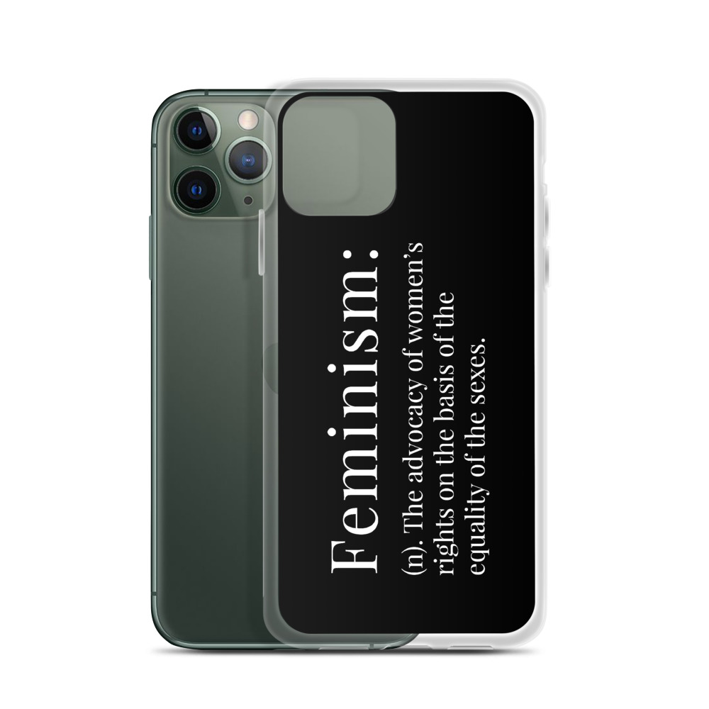 She is apparel Feminism Definition iPhone Case
