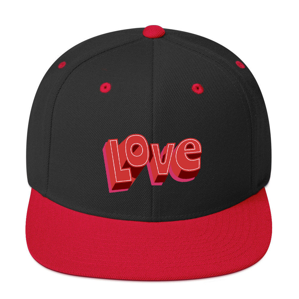she is apparel Love snapback