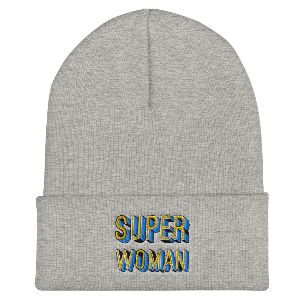she is apparel Super Woman beanie