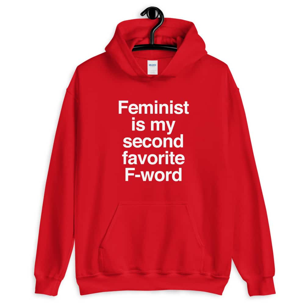 She is Apparel F-Word Hoodie